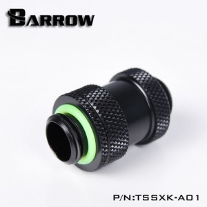 "Barrow G1/4"" 22-31mm Adjustable SLI / Crossfire Connector - Black (TSSXK-A01)"