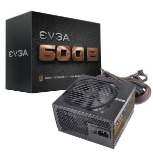 EVGA 600B Bronze Power Supply (100-B1-0600-KR)