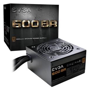 EVGA 600 BR, 80+ BRONZE 600W, Power Supply (100-BR-0600-K1)