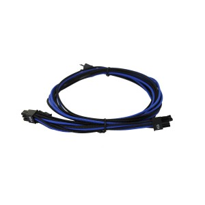 EVGA Individually Sleeved Power Supply Cable Set for 1600W - SUPERNOVA G2/P2/T2 - Black / Dark Blue (100-G2-16KU-B9)