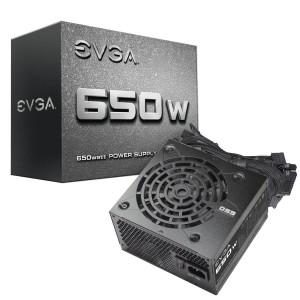EVGA 650 N1, 650W, Power Supply (100-N1-0650-L1)