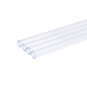 Alphacool HardTube 13/10mm 20cm - 4 Pack - UV Blue Plexi (18481)