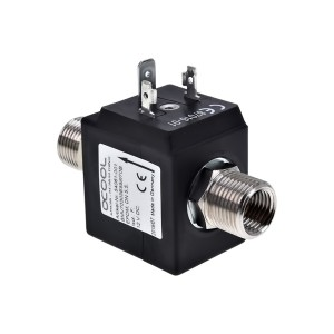 Alphacool 2/2-Way High Flow Solenoid Valve (17355)