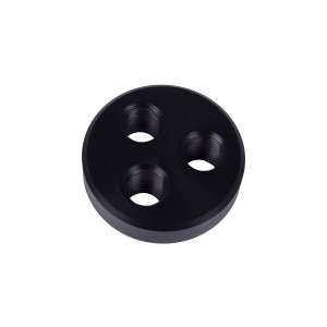 Alphacool Cape Coolplex 3 Port Replacement End Cap (29050)
