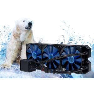 Alphacool Eisbaer 420 AIO CPU Cooler - Black (11390)