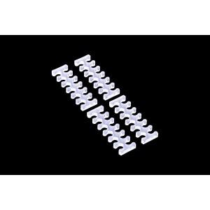 Alphacool Eiskamm X12 - 3mm Clear- 4 pcs (24745)