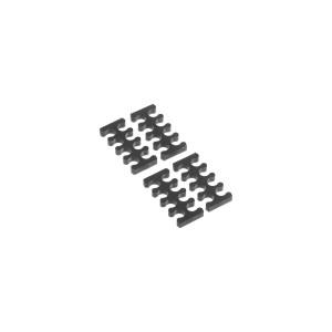 Alphacool Eiskamm X8 - 3mm Black - 4 pcs (24753)