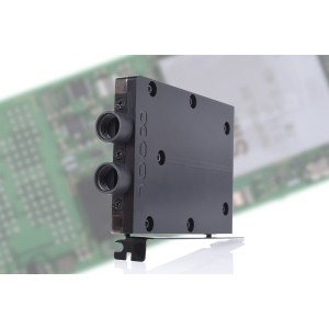 Alphacool Eisblock HDX-3 PCI-e 3.0 x4 Adapter Cooling Block - Black (11435)