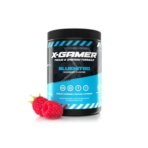 X-Gamer X-Tubz - Gaming Booster Bluenitro - 600g (XG-XTU-4.0-BLUE-1-A)