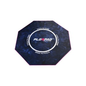 """Florpad """"Stealth Zone"""" Gamer - Soft Floor Protection Mat (FM_Stealth)"""