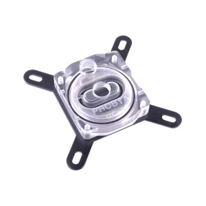 Phobya CPU-Cooler UC-2 LT Intel 775,1155,1156,1366,2011 - Silver Nickel Plexi Edition (10460)