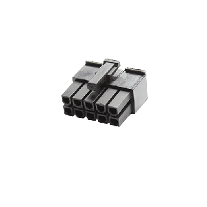 MMM 10-Pin Female Connector - Black (MOD-0190)
