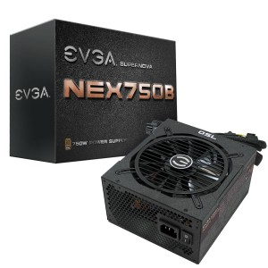 EVGA SuperNOVA NEX750B Bronze Power Supply (110-B1-0750-VR)