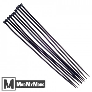 "ModMyMods 11"" Cable Ties 10 Pack - Black (MOD-0166)"