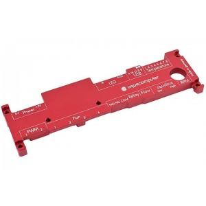 Aquacomputer Aquaero 6 Pro / XT Passive Heatsink | Red (53158)