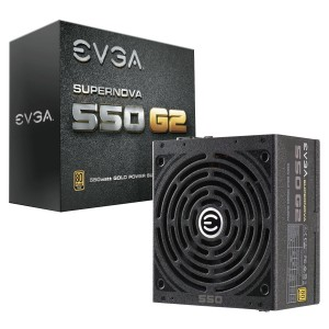 EVGA SuperNOVA 550 G2 Power Supply (220-G2-0550-Y1)