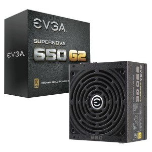 EVGA SuperNOVA 650 G2 Power Supply (220-G2-0650-Y1)