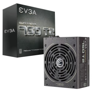 EVGA SuperNOVA 750 T2 Power Supply (220-T2-0750-X1)