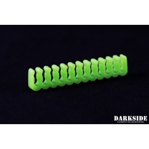 Darkside 24-pin Open-Closed Cable Management Comb – Green (DS-1051)