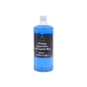 Phobya ZuperZero UV Crystal Blue 1000ml (30281)