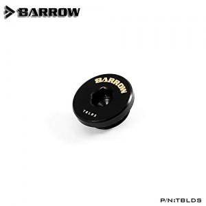 "Barrow G1/4"" Ultra Low Profile Hex Stop / Plug Fitting - Black (TBLDS)"