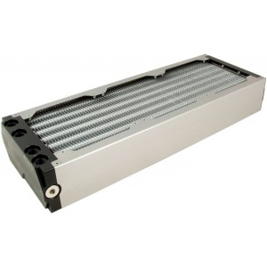 Aquacomputer Airplex Modularity 360 mm Radiator - Dual Circuit | Aluminum (33017)