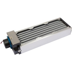 Aquacomputer Airplex Modularity 360 mm Radiator with D5 pump | Aluminum (33020)