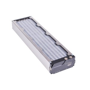 Aquacomputer Airplex Modularity 480 mm Radiator - Dual Circuit | Aluminum (33027)