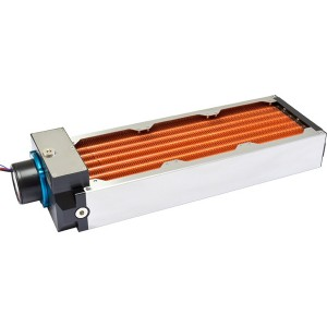Aquacomputer Airplex Modularity 360 mm Radiator with D5 pump | Copper (33040)