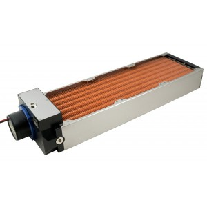 Aquacomputer Airplex Modularity 420 mm Radiator with D5 pump | Copper (33045)