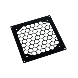 Phobya Radiator Grill Single 140 - HEXX - Black (38163)