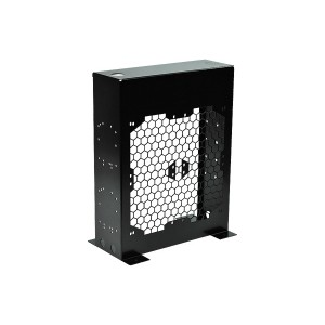 Phobya Radiator Stand - Black - Bench Edition: Quad 4x120mm (38188)