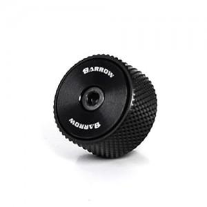 "Barrow G1/4"" Manual Pressure Release Valve Fitting  - Black/Black (TPQ-V2)"