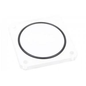 Alphacool Replacement Cover Plexi for Quad Laing DDC - Dual 5,25 Bay Station (15053)