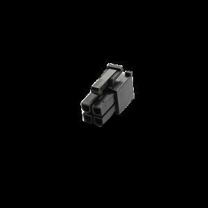 MMM 4-Pin EPS Female Connector - Black (MOD-0105)