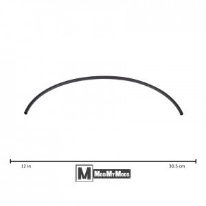 "ModMyMods 3/16"" (5mm) 3:1 Heatshrink Tubing - Black (MOD-0158)"