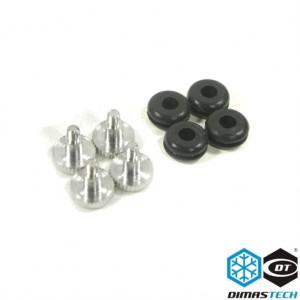 DimasTech® Rubbers & HD Special 6-32 Screws (BT120)