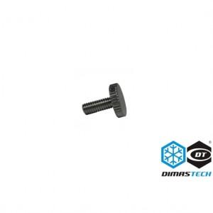DimasTech® Special Screws M4 Flat Head Silver (BT118)