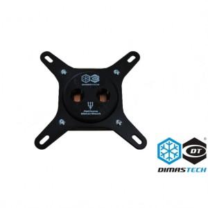 Dimastech® Nethuns WaterBlock Sockets 775/115x/1366 Black (WB001)