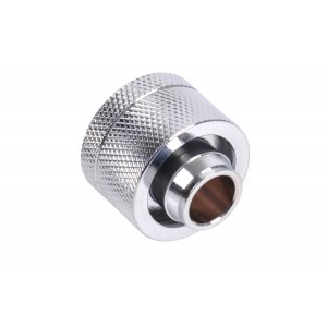 "Alphacool G1/4 1/2""ID x 3/4""OD Compression Fitting - Chrome (17170)"