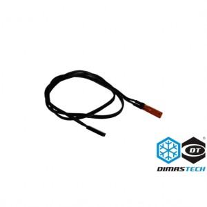 DimasTech® 50cm NTC 2-Pin Temp Sensor- Black (DS016)