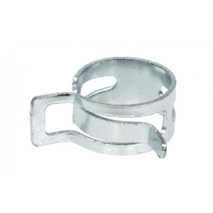 "Alphacool 3/4"" (19-22mm) Spring Steel Hose Clamp - Chrome (17133)"