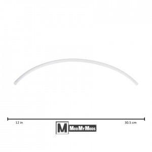 "ModMyMods 1/4"" (6mm) 3:1 Heatshrink Tubing - White (MOD-0160)"
