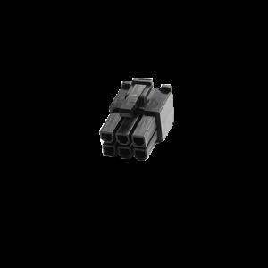 MMM 6-Pin PCI-E Female Connector - Black (MOD-0103)