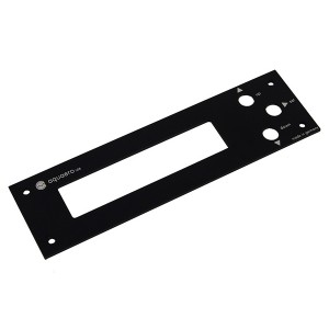 Aquacomputer Faceplate for Aquaero 4.00 Aluminum Black (53038)