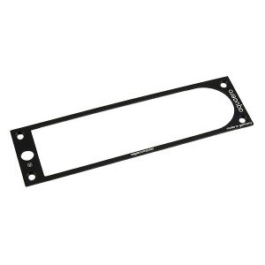 Aquacomputer Faceplate for Aquaero 5 XT Aluminium Black (old revision) (53092)