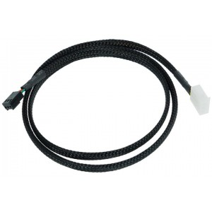 Phobya Flow Meter Cable - 80cm | Black (71189)
