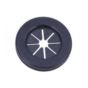 Phobya Cable Rubber Grommet Round - Black (75144)
