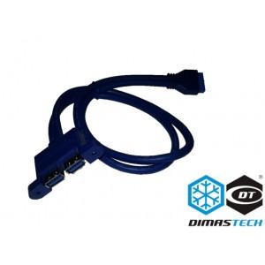 DimasTech® I/O USB 3.0 x 2 Panel (BT181)