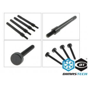 DimasTech® RadExt Fan Fix M4 & ThumbScrews Metric M2,5 x 25mm for RadExt 480/560/560X (DS030)